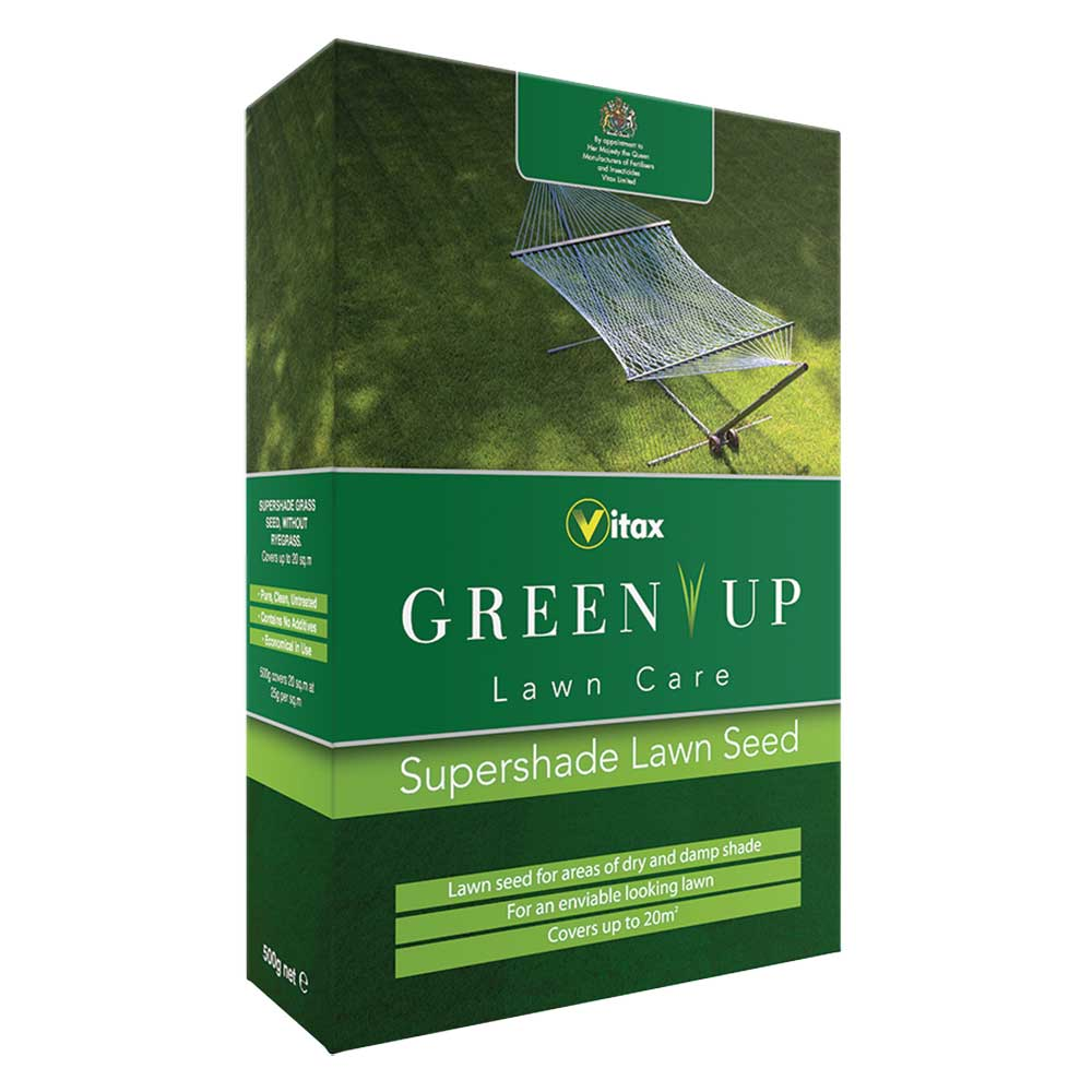 Picture of Vitax GREEN UP Supershade Lawn Seed