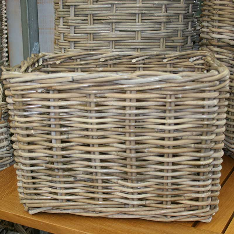 Picture of Woven Rectangular Basket