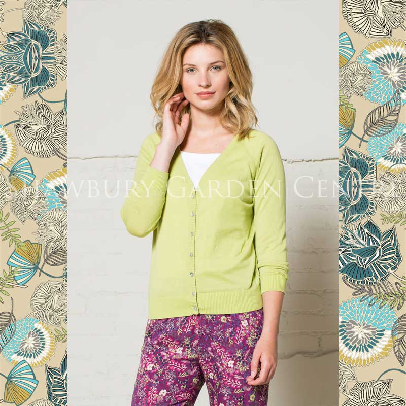 Picture of Nomads Lime Green Short Cardigan