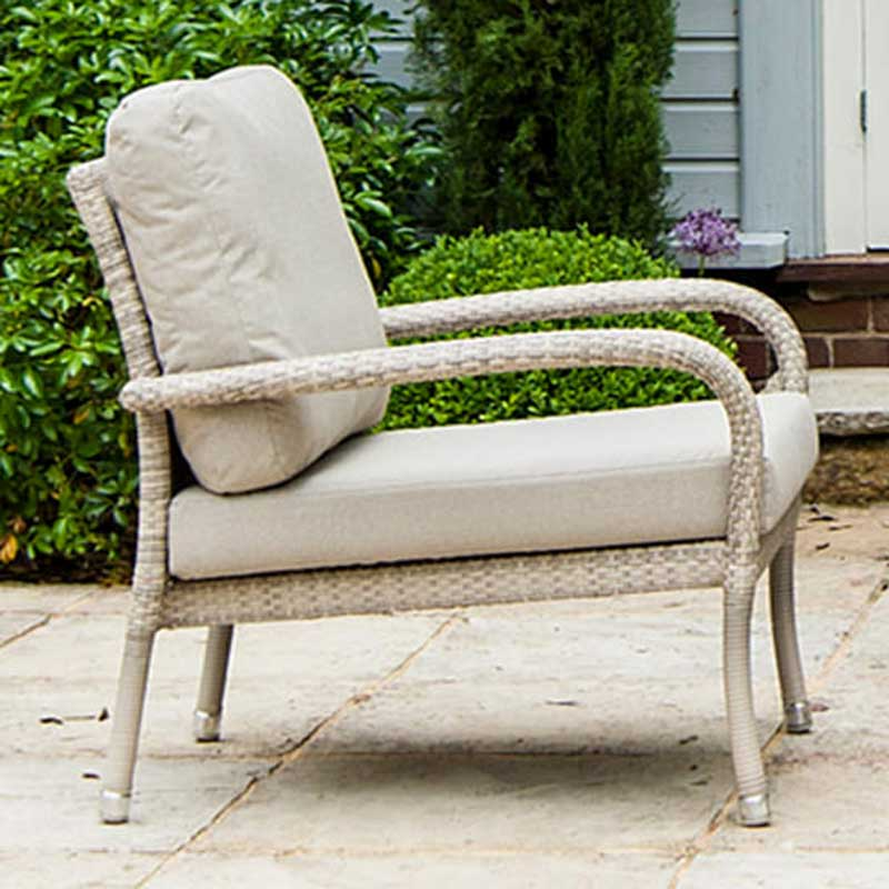 Picture of Alexander Rose Ocean Pearl Lounge Armchair