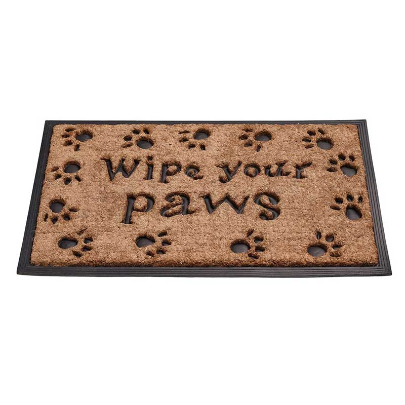 Picture of Gardman 'Wipe Your Paws' Door Mat
