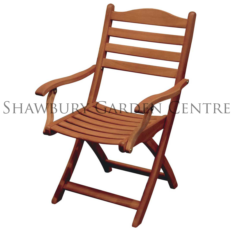Picture of Alexander Rose Cornis Folding Carver Chair