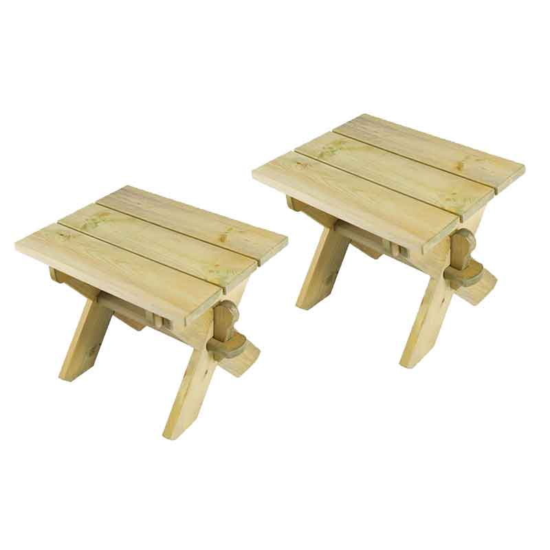 Picture of Alexander Rose Farmer's Lightweight Stools (Set of 2)