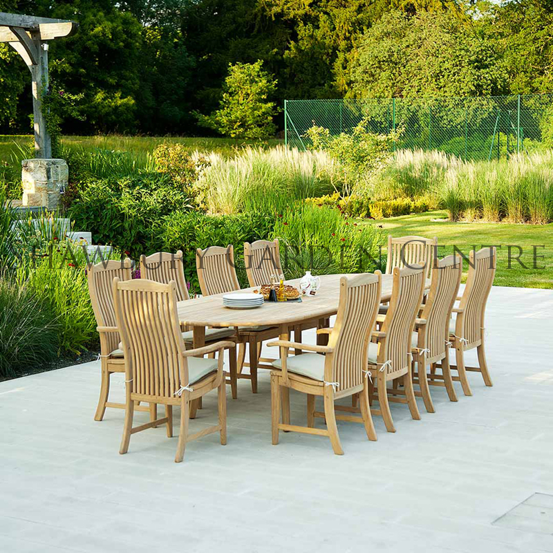 Picture of Alexander Rose Roble Hardwood Extendable Garden Table