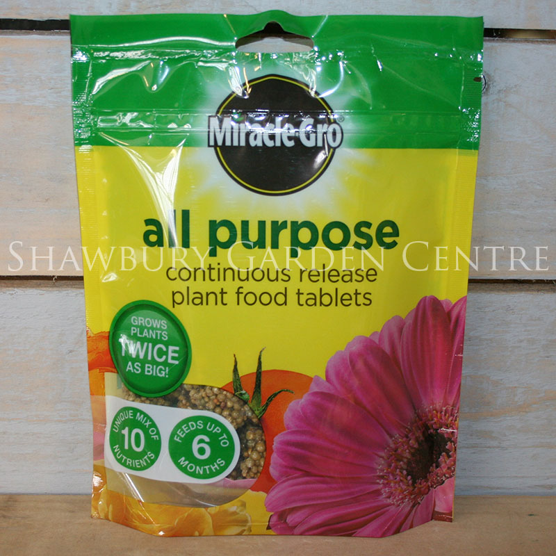 Picture of Miracle-Gro Controlled Release Plant Food Fertiliser Tablets