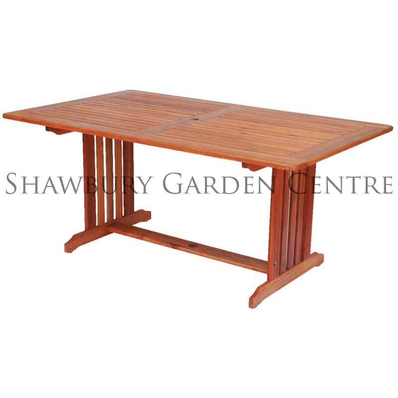 Picture of Alexander Rose Cornis Rectangular Garden Table
