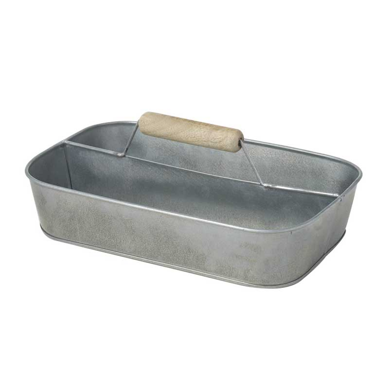 Picture of Parlane Silver Colour Metal Tool Caddy