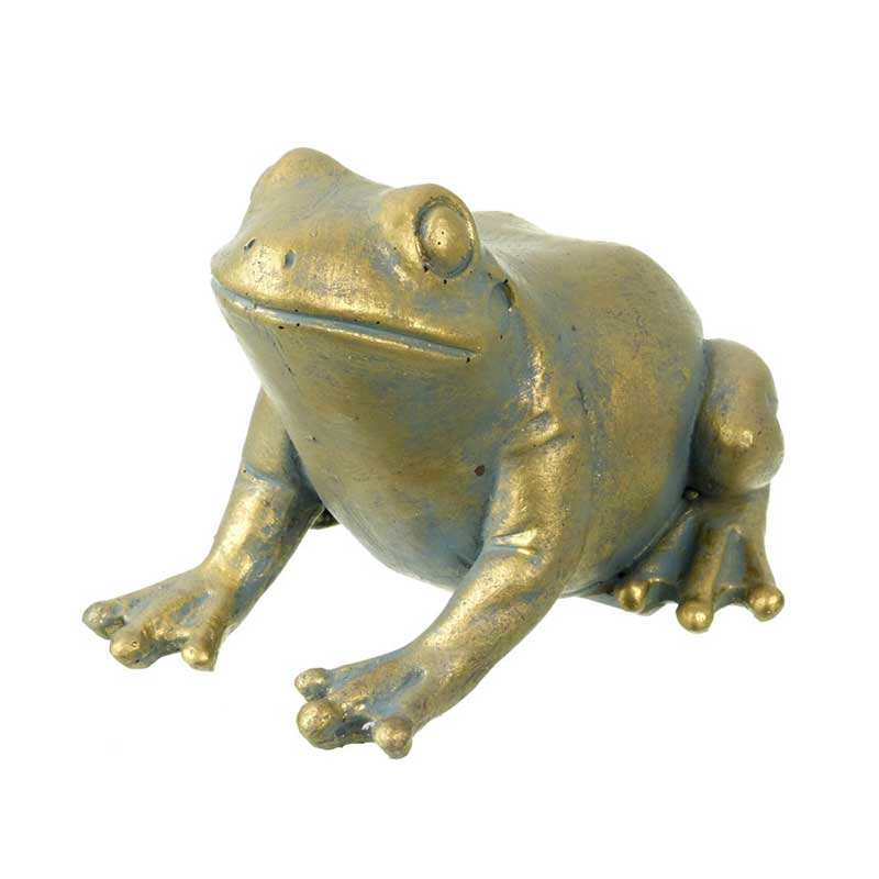 Picture of Parlane Gold Colour Fergus Frog Ornament