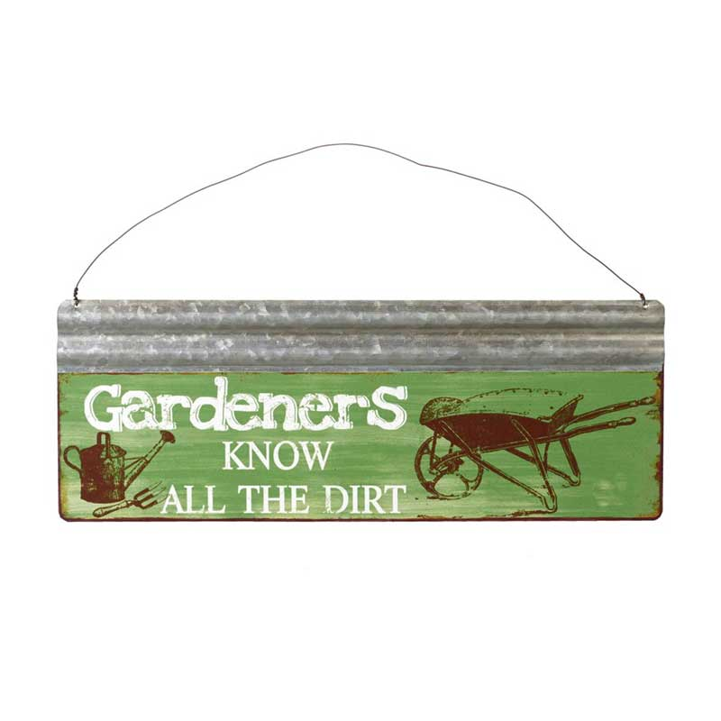 Picture of Parlane Gardeners Know All the Dirt Sign