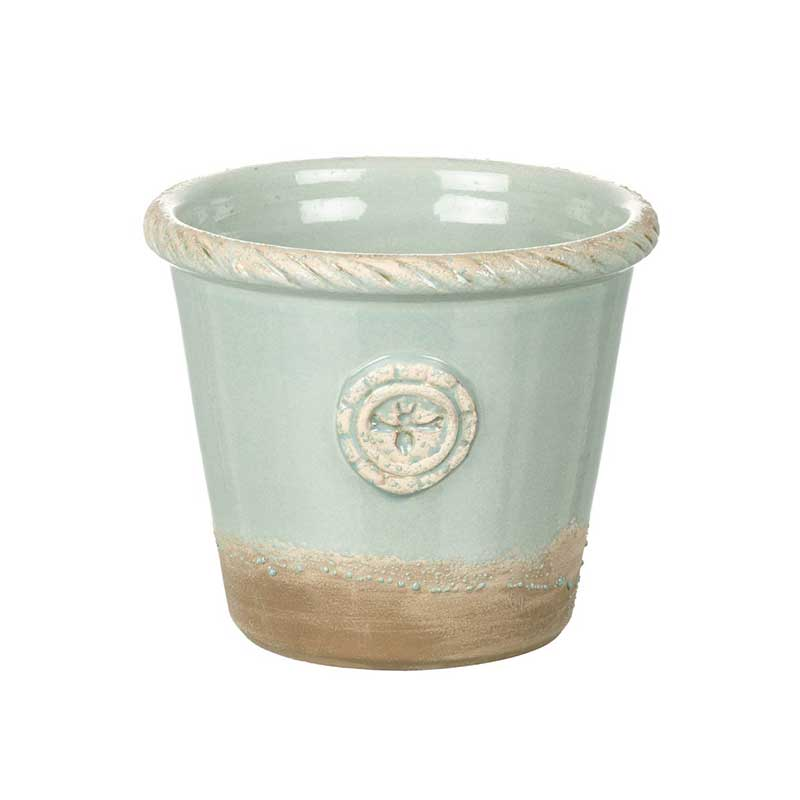Picture of Parlane Lancelot Planter Terracotta with Green Glaze