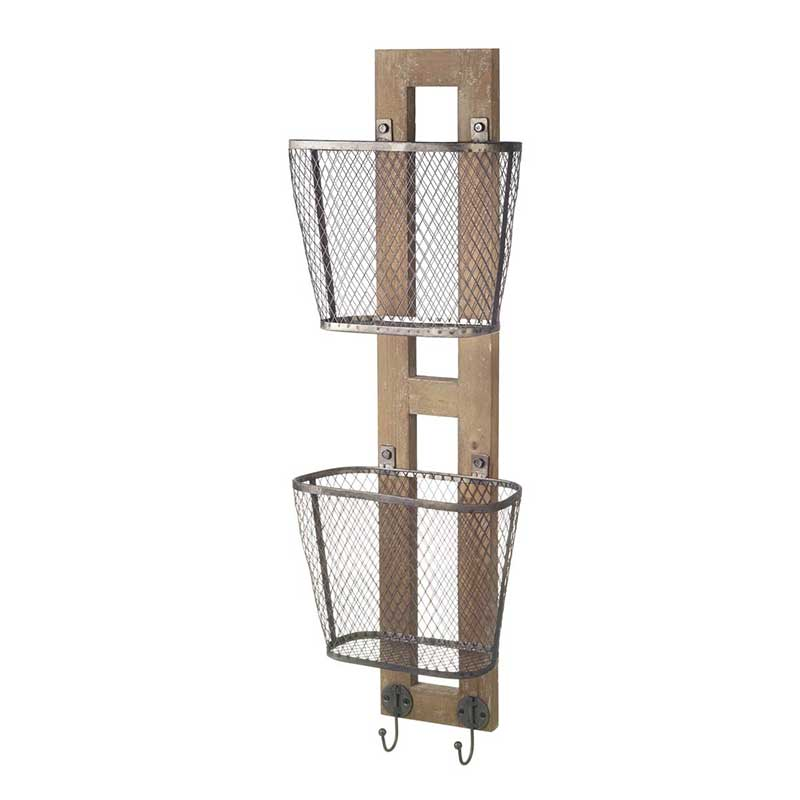 Picture of Parlane Wire Wall Storage Baskets