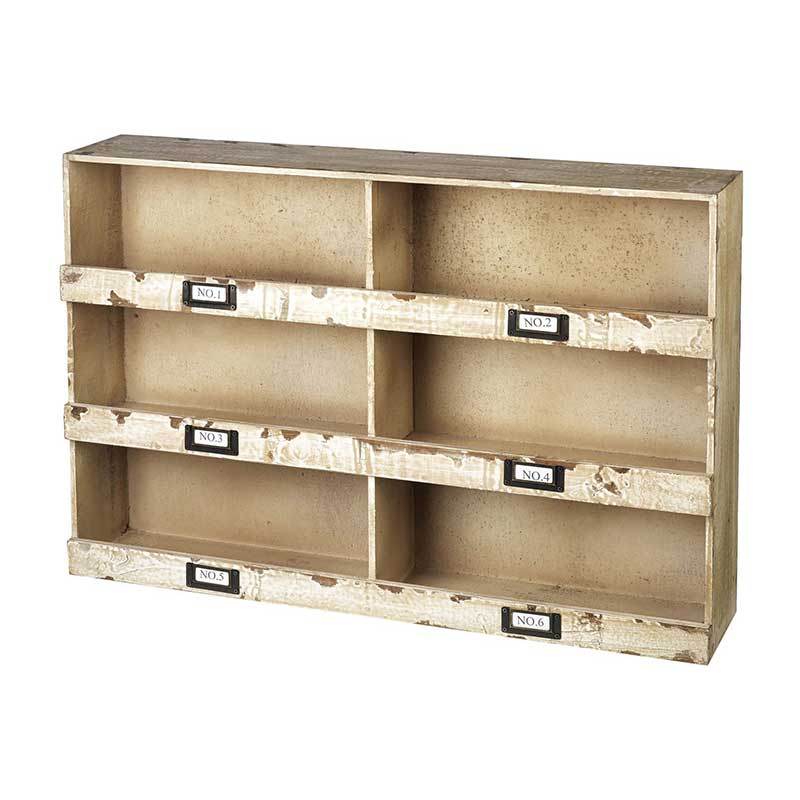 Picture of Parlane 'Hudson' 9 Compartment Shelving Unit