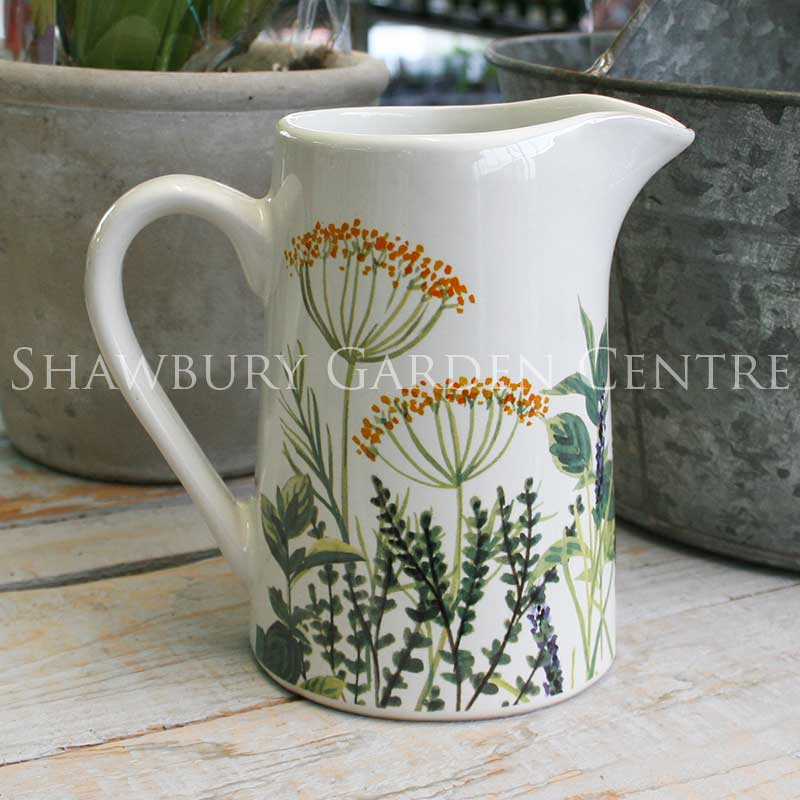 Picture of Gisela Graham 'Herbs' Ceramic Jug