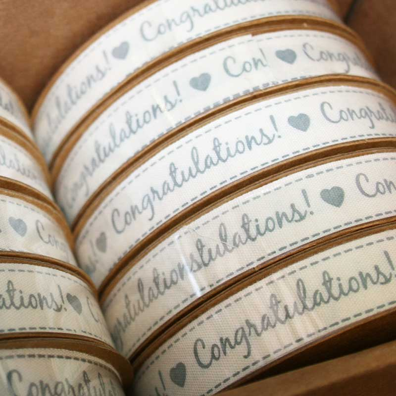 Picture of Gisela Graham 'Congratulations' Ribbon