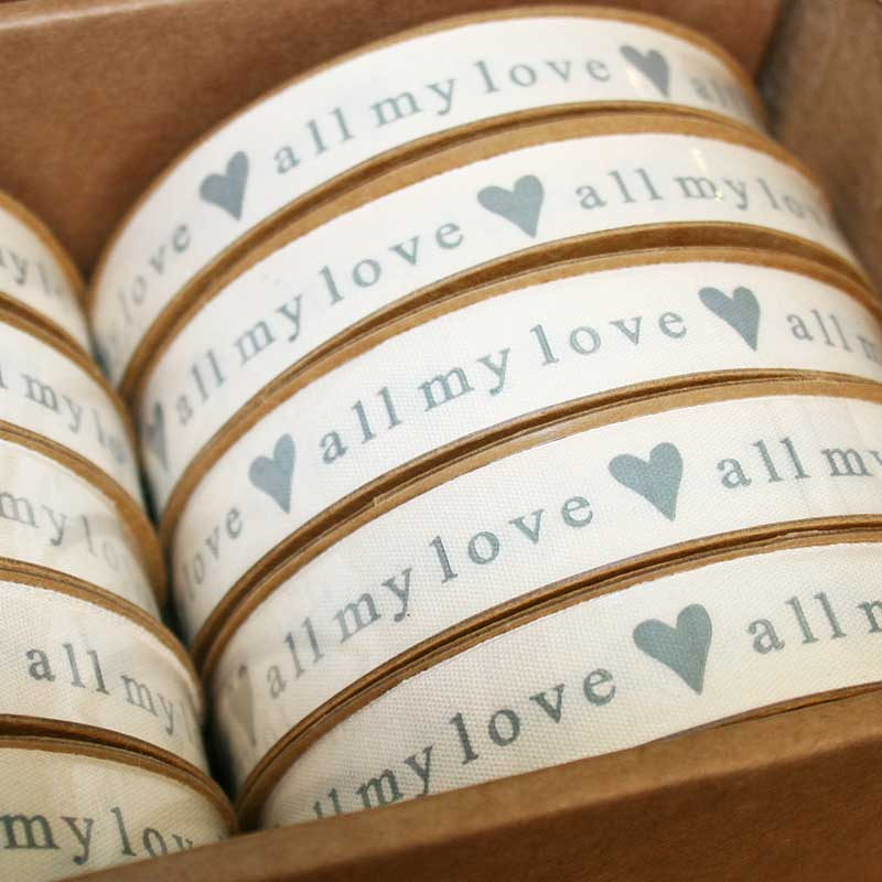 Picture of Gisela Graham 'All My Love' Ribbon
