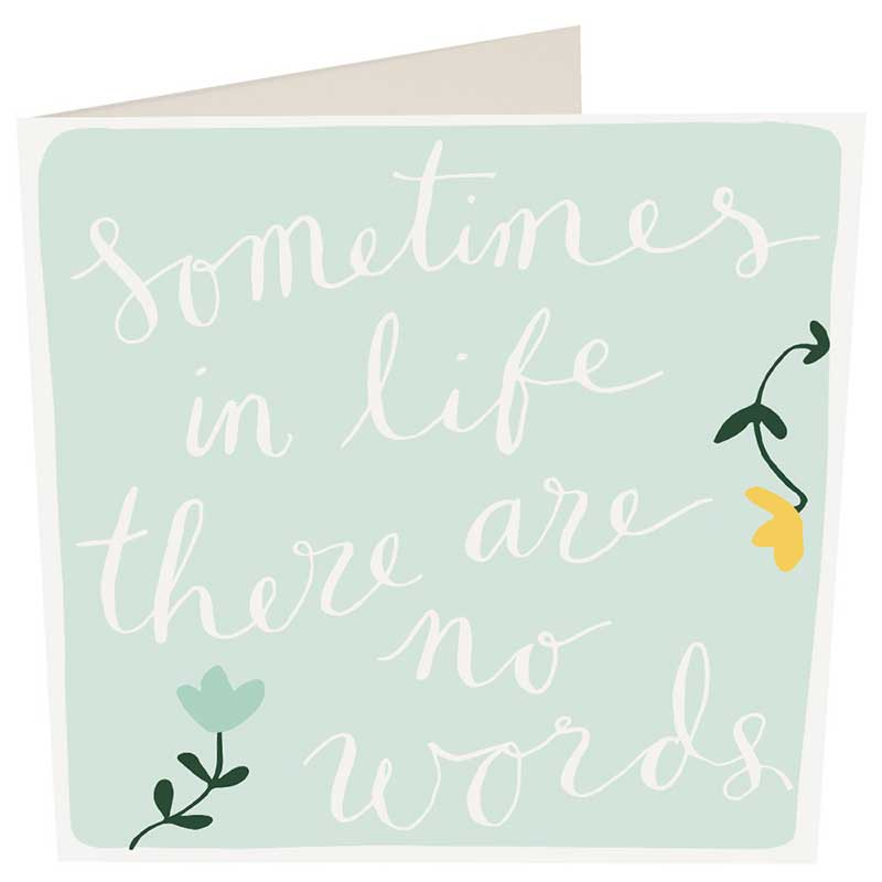Picture of Caroline Gardner 'Sometimes in life...' Card
