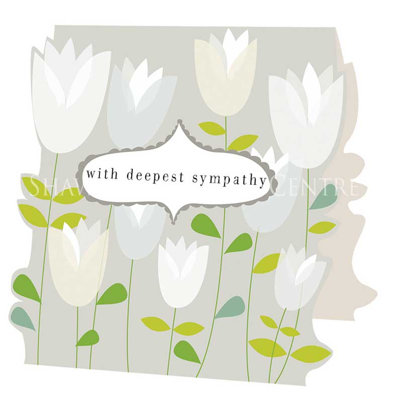 Picture of Caroline Gardner 'With Deepest Sympathy' card