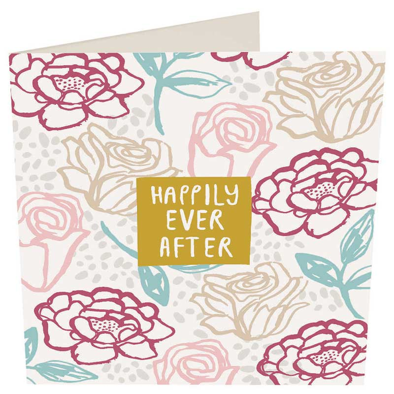 Picture of Caroline Gardner 'Happily Ever After' card