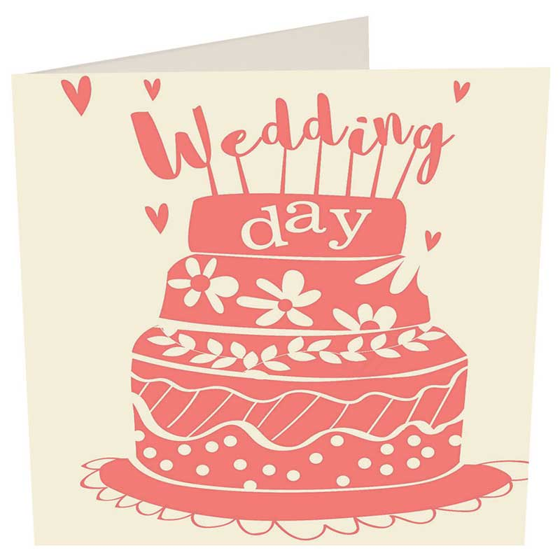 Picture of Caroline Gardner 'Wedding Day' card