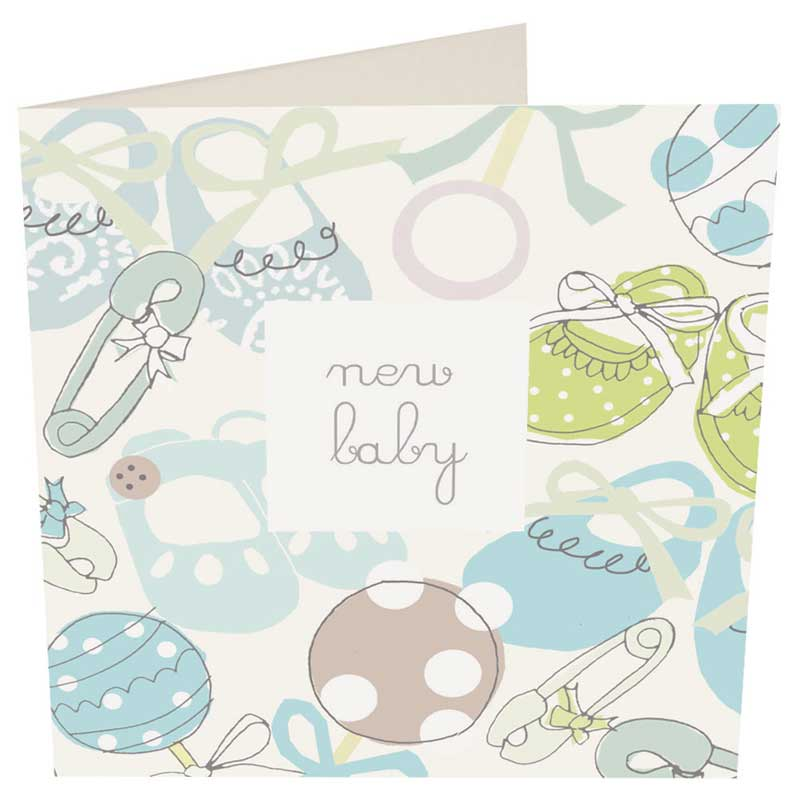 Picture of Caroline Gardner 'New Baby' Card