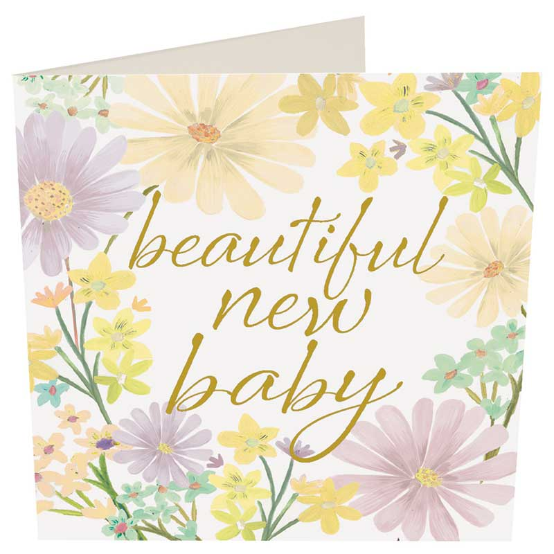 Picture of Caroline Gardner 'Beautiful New Baby' card