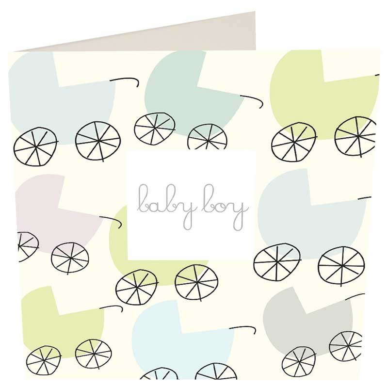 Picture of Caroline Gardner 'Baby Boy' card