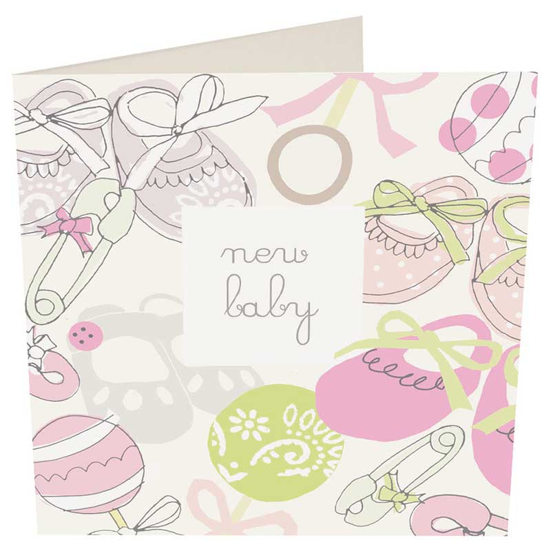 Picture of Caroline Gardner 'New Baby card