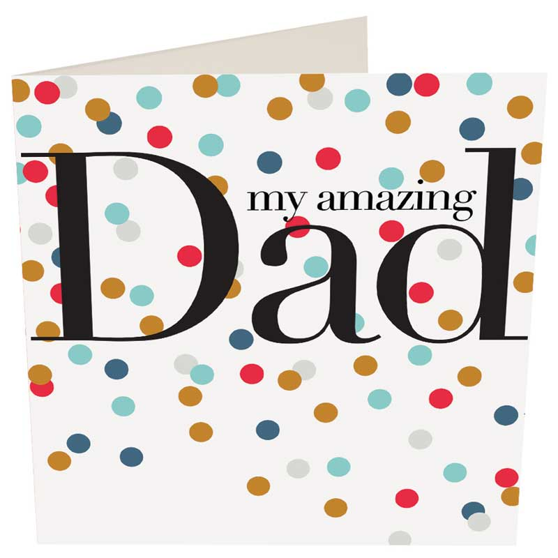 Picture of Caroline Gardner 'My Amazing Dad' card