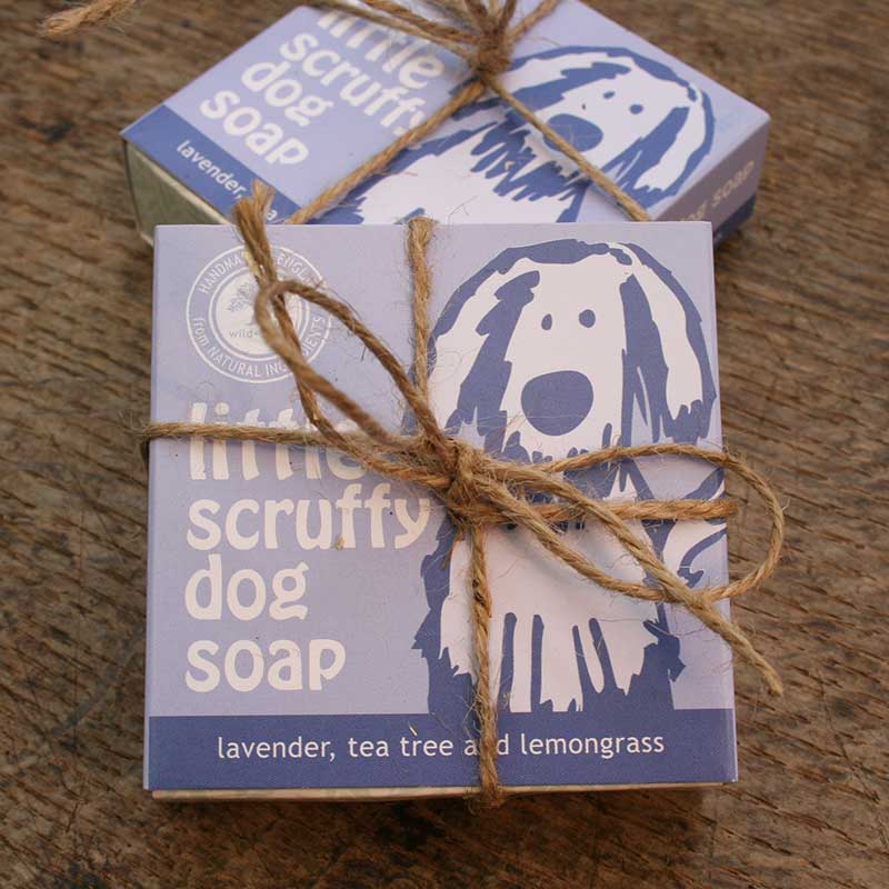 Picture of Wild Olive Little Scruffy Dog Soap