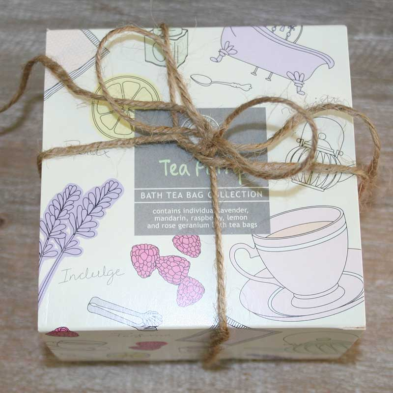 Picture of Wild Olive Tea Party Bath Tea Bag Gift Set