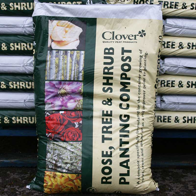 Picture of Clover Rose, Tree & Shrub Planting Compost