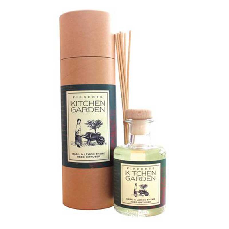 Picture of Fikkerts Kitchen Garden Basil & Lemon Thyme Reed Diffuser