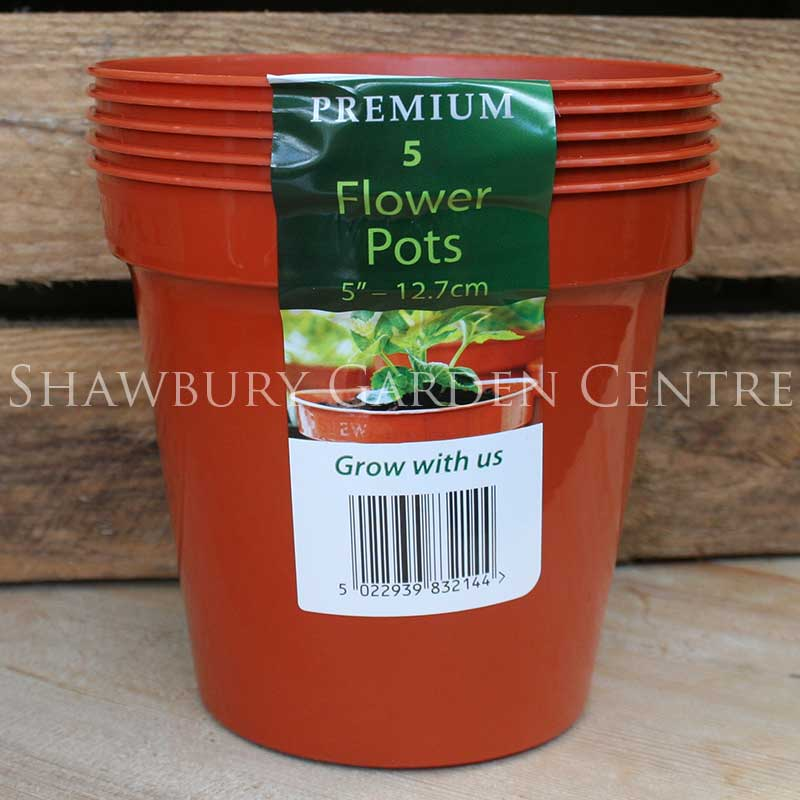 Picture of Stewart Garden Pack of 5 Plastic Pots