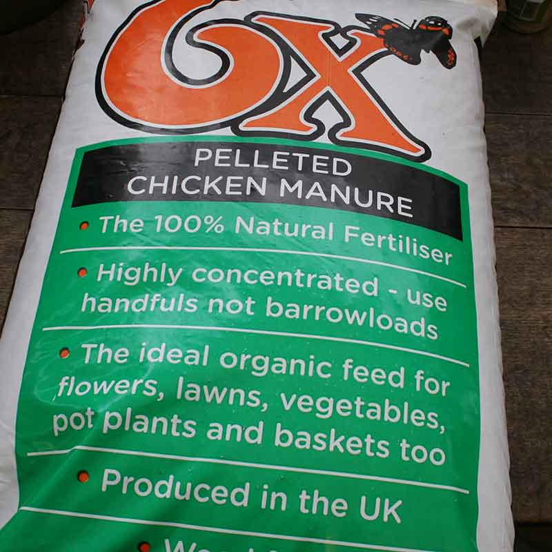 Picture of Vitax 6X Pelleted Chicken Manure