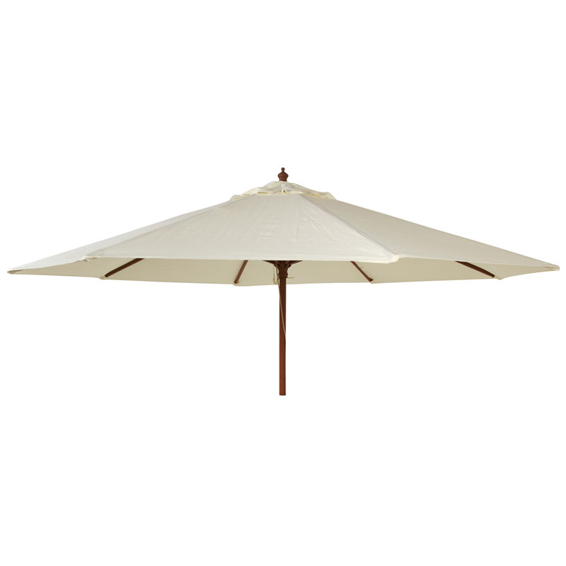 Picture of Alexander Rose Hardwood ROUND Parasol