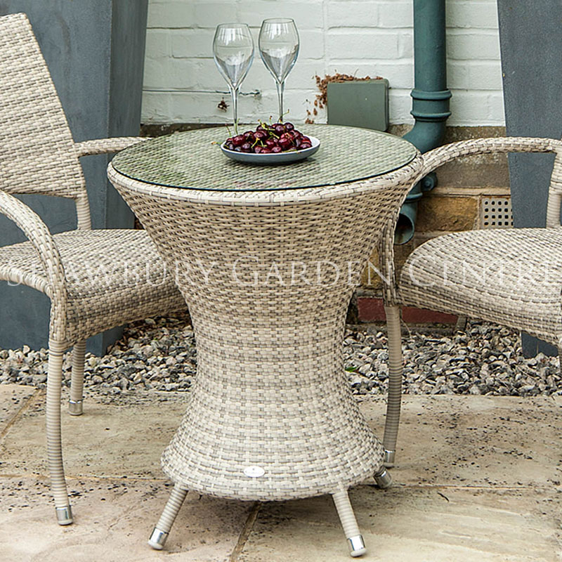 Picture of Alexander Rose Ocean Pearl Wave Bistro Table