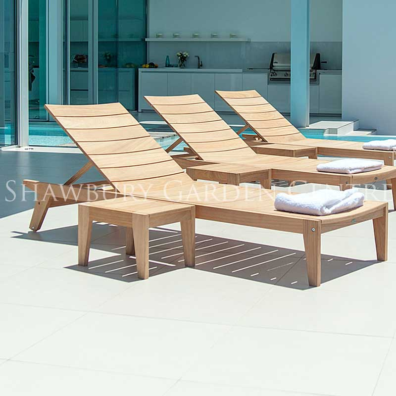 Picture of Alexander Rose Roble Sunbed Side Table