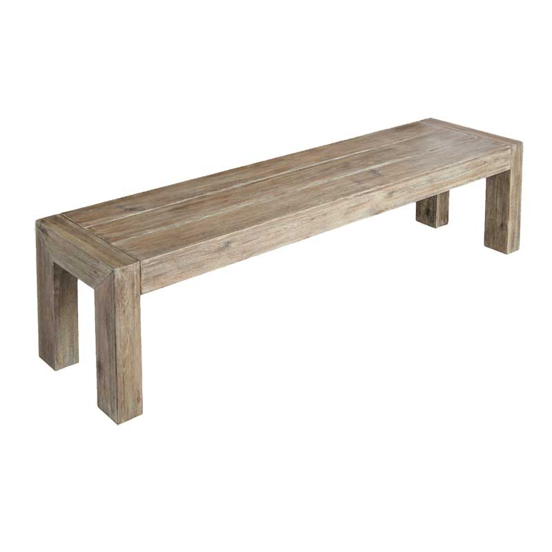 Picture of Alexander Rose Painted Acacia RECTANGULAR BENCH