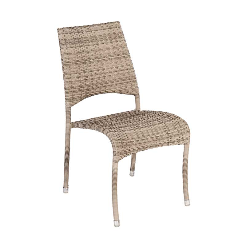 Picture of Alexander Rose Ocean Pearl Fiji Stacking Side Chair
