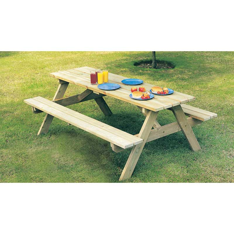 Picture of Alexander Rose Pine Children's Picnic Table