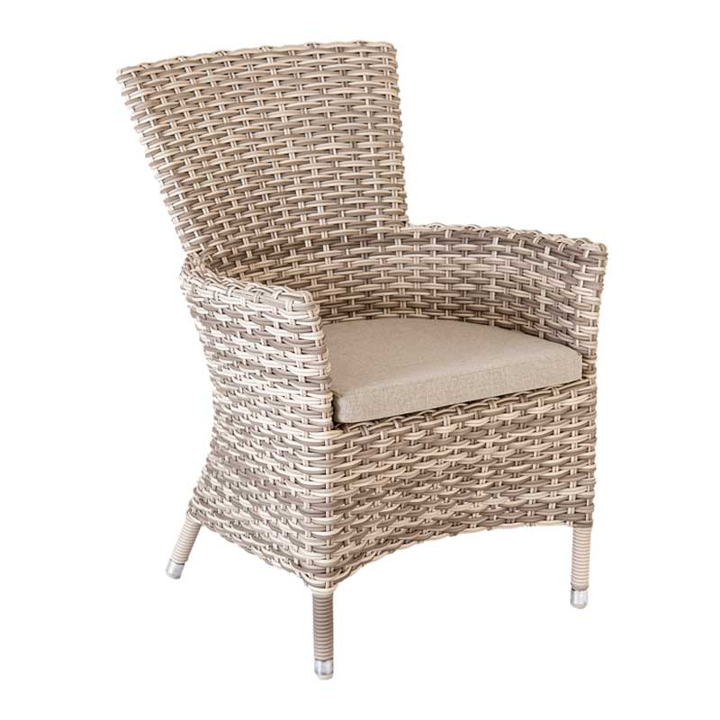 Picture of Alexander Rose Kool Pearl High Back Armchair