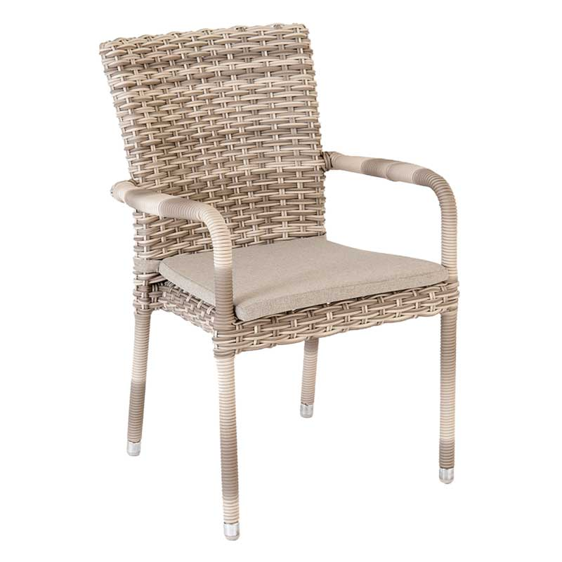 Picture of Alexander Rose Kool Pearl Stacking Armchair