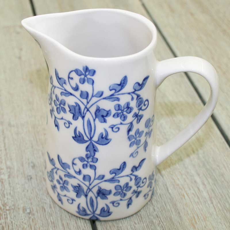 Picture of Gisela Graham 'Forget Me Not' Ceramic Jug