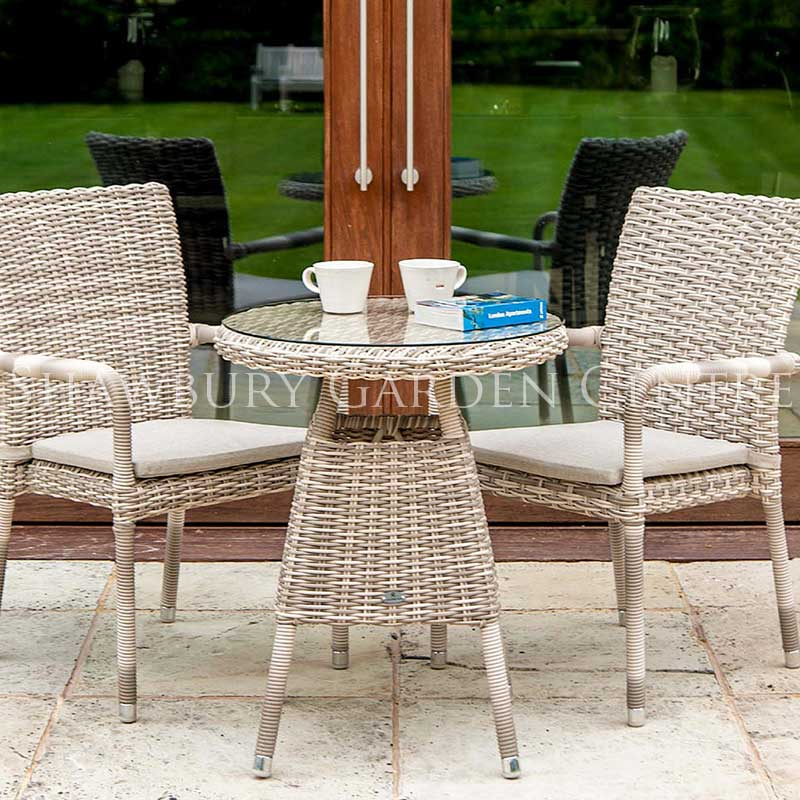 Picture of Alexander Rose Kool Pearl Bistro Set