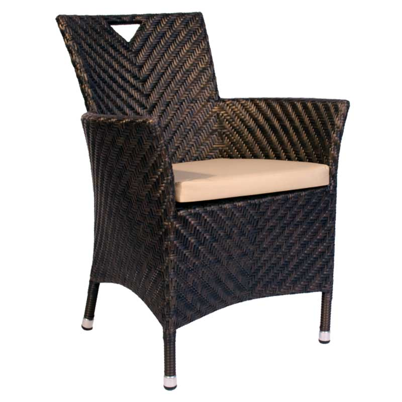Picture of Alexander Rose Ocean Wave Armchair