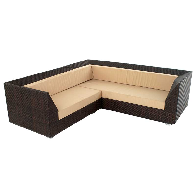 Picture of Alexander Rose Ocean Maldives Corner Sofa with Cushions