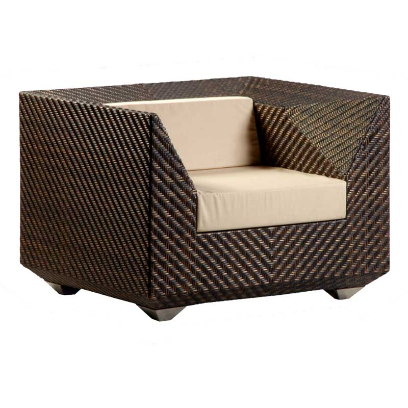 Picture of Alexander Rose Ocean Maldives Armchair with Cushions