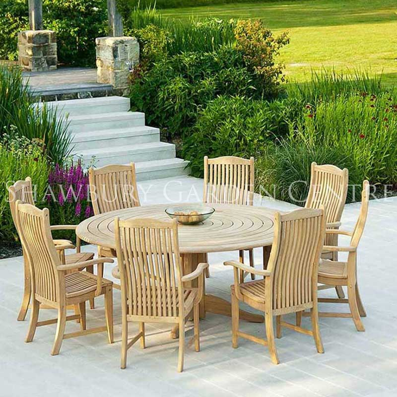 Alexander rose roble bengal eight seater garden furniture set picture of alexander rose roble bengal eight seater garden furniture set workwithnaturefo
