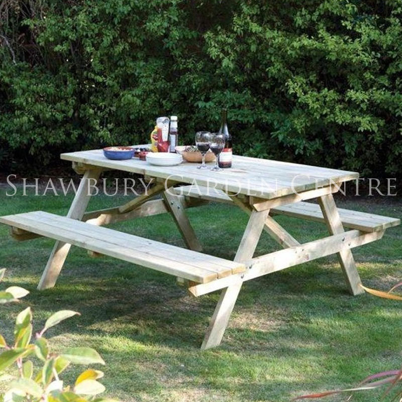 Picture of Rowlinson 6 Seater Picnic Table