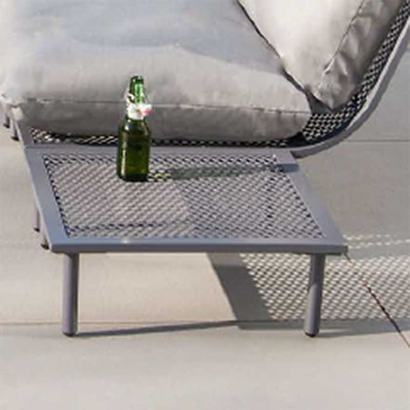 Picture of Alexander Rose Beach Lounge Side Table with Aluminium Top